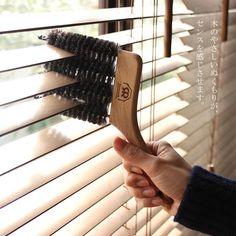 ブラインド専用のブラシ - Windows Shades Cleaner