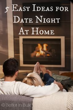 5 Easy Ideas for Date Night At Home #gelatolove #sponsored
