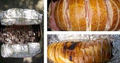 This awesome camping lunch recipe idea assembles in minutes and is very easy to cook over the campfire or on the grill.