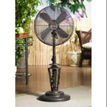 Vines Outdoor Patio Fan   Floor Standing Outdoor Fan By Deco Breeze