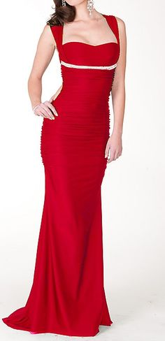 Hi Styles Red Military Ball Dresses
