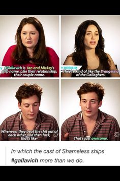 Ian and Mickey Shameless Memes, Shameless Tv Show, Movies Showing, Movies And Tv Shows, Jeremy Allen White, Mickey And Ian, Captive Prince, Def Not, Cameron Monaghan