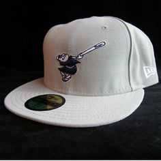 Tucson Padres Fitted Grey Cap - San Diego Padres - Size 7 3 4  NewEra   TucsonPadres fab23afec350