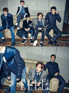 2014.11, ELLE, Winner, Kim Jinwoo, Lee Seunghoon, Kang Seungyoon, Nam Taehyun, Song Minho