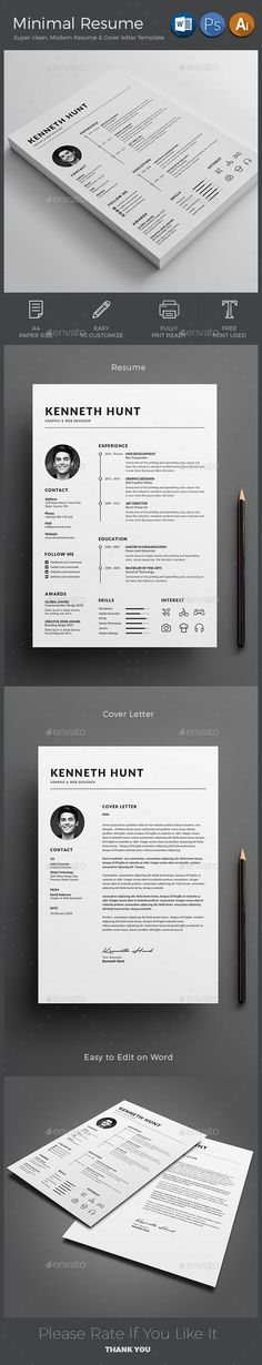 Resume CV Resume cv, Cv template and Simple resume - resume paper