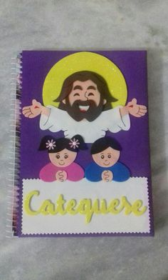 Caderno personalizado para Catequese.. ❤ 😍