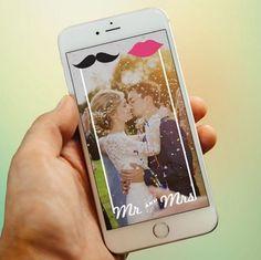 Custom Wedding Snapchat Filter www.geotagfilters.com Snap Filters, Wedding Trends, Filter Design, Snapchat Filters, Special Events, Wedding Inspiration, Graphic Design, Weddingideas