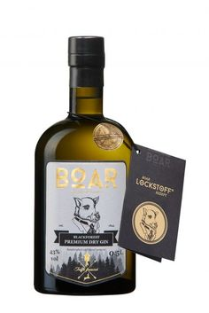 BOAR Gin Blackforest Premium Dry Gin mit Trüffel 0,5l Premium Gin, Happy Hour, Whisky, Dry Gin, Cocktails, Drinks, Gin And Tonic, Whiskey Bottle, Vodka
