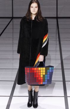 Anya Hindmarch Fall 2016 - Multicoloured handbag