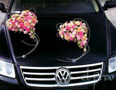 Car wedding flowers