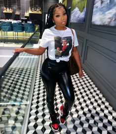 Swag Outfits For Girls, Cute Swag Outfits, Teenager Outfits, Dope Outfits, Teen Fashion Outfits, Girl Outfits, Swag Fashion, Urban Fashion, Fashion Ideas
