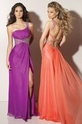 Prom Dresses One Shoulder Sheath/Column Chiffon With Beading/Sequins USD 174.99 SPPR1D8CN - SeasonMall.com for mobile