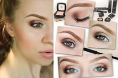 #makeup #brown #natural #nudelips