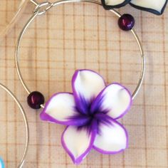 #wedding #wine #charms - Purple Frangipani Only « Winky's Widgets | Wine Charms + Event Accessories