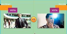 Marco Mengoni contro Marco Carta: chi vincerà gli MTV Awards 2014 Artist Saga?