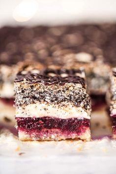 Polish Desserts, Polish Recipes, No Bake Desserts, Delicious Desserts, Sweet Recipes, Cake Recipes, Dessert Recipes, First Communion Cakes, Icebox Cake