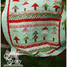 Christmas Flying Geese Tree quilt!