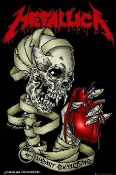 Afiche Metallica.