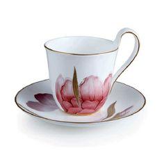 Flora Cup & saucer, Iris, Royal Copenhagen