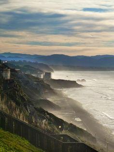 Cote des Basques, Biarritz Basque country, Aquitaine FRANCE pais vasco, francia