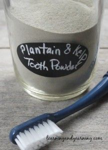 Easy recipe for herbal tooth powder | LearningAndYearning
