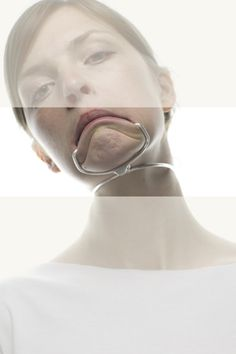 "Altering the body is often frowned upon. Auste Arlauskaite - ""Body adjustment"" - silver - www.aaj.lt"