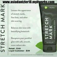 Do you want to get rid of stretch marks, scars, and fine lines ? Then, Stretch Mark Cream is the product for you ! Checkout as a loyal customer today and get 50% off every product INSTANTLY + free shipping !