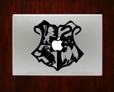 Hogwarts Crest Harry Potter Decal Sticker For Macbook 13 15 inch Pro Air #RusticDecal
