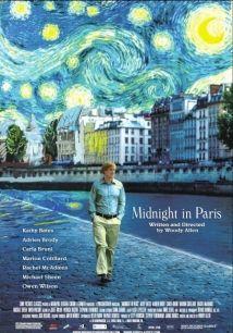 Paris'te Gece Yarısı film afişi