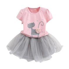 Girls' Clothing Muqgew Party Dress For Girls Princess Toddler Baby Girls Dress Cartoon Elephant Print Plaid Sleeveless Dresses Outfits Bebek El Dresses