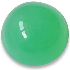 Round Chrysoprase  Cabochon,  7.93 cts