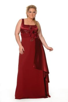 b7a94f9bfb Vestido de Madrinha Plus Size 43 Plus Size Gowns Formal