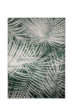1499 zł  Zuiver :: Dywan Palm zielony 170X240 6000098 | Salon meblowy Warszawa 9design