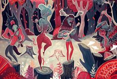 I'm really loving the magical illustrations by Karl James Mountford. His…
