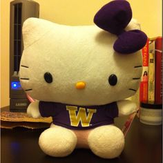 UW Hello Kitty available at the Bookstore!