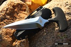 The Cold Steel Safe Maker II Push Dagger includes an easily concealable and sturdy Secure-Ex boot/belt sheath which makes it an excellent choice for a hide-out self-defense knife. Check it out!!!!! http://www.osograndeknives.com/catalog/fixed-blade-push-knives/cold-steel-12bs-safe-maker-i-97.html