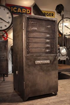 meuble de metier ancien industriel deco loft industrial furniture