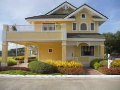 Who Is Lying to Us About Dream House Exterior Mansions Spanish Style? Two Story House Design, Simple House Design, Design Your Dream House, House Outside Design, House Front Design, House Paint Exterior, Dream House Exterior, Philippine Houses, Independent House