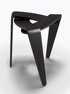 *industrial design, furniture, stool, wood, modern* - Diaphragm. Michael Bihain. Photo: Anthony Graci