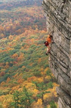 Shawangunks in New Paltz, New York | 16 Places To Go Rock Climbing Before You Die