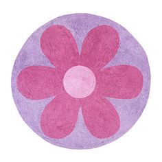 Found it at Wayfair - Daisies Collection Floor Rug