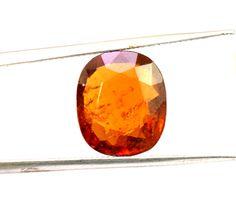 8.3ct Natural Fine Gem Quality Transparent Ceylon Hessonite Garnet Gemstone