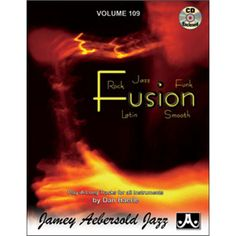 VOLUME 109 - DAN HAERLE - FUSION 12 exciting jazz/rock and fusion tracks composed and performed by well-known keyboardist Dan Haerle. - full sounding tracks with a big presence! Jazz Funk, Online Music Stores, Play, Smooth, Rock, Big, Book Review, Products, Latin Dance