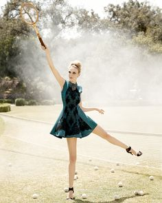 Caroline Trentini by Coliena Rentmeester for Neiman Marcus August 2014 lookbook
