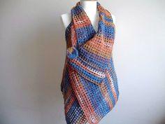 ON SALE Mohair Vest By Crochetlab Asymmetric Vest by crochetlab, $49.30
