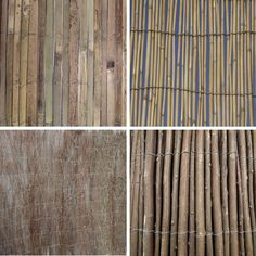 Garden Divider Screening Border Bamboo Slat Willow Reed Brushwood Fencing Rolls | eBay
