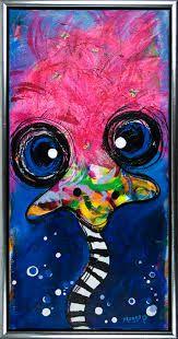 farverige fugle malerier - Google-søgning