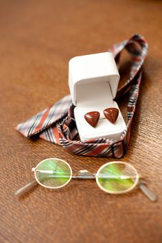 Some cool accessories for the dapper groom - Rocket Science Weddings & Events - Photo by Camera Love Photography