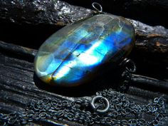 30 OFF SALE labradorite necklace gemstone necklace by BeijoFlor, $55.30
