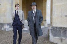 Morse (Shaun Evans) and Thursday (Richard Allam) in Endeavour